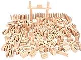 CreaBLOCKS Holzbausteine II. Wahl 6 kg ca. 190 Stück Bauklötze mit leichten Fehlern 57 Prozent günstiger Made in Germany