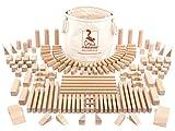 CreaBLOCKS Holzbausteine Große Grundausstattung ( unbehandelte Bauklötze) Made in Germany